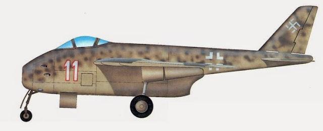 Messerschmitt P-1101 prototype worldwartwo.filminspector.com