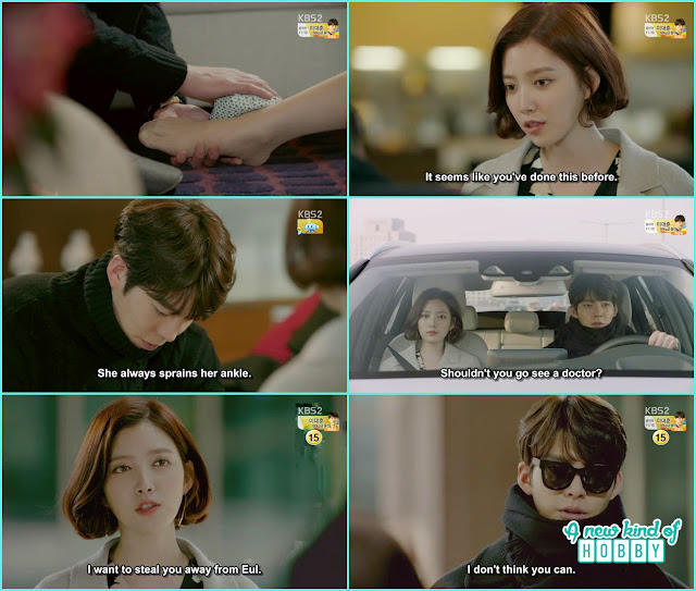 joon young drive jeong eun to home- Uncontrollably Fond - Episode 14 Review