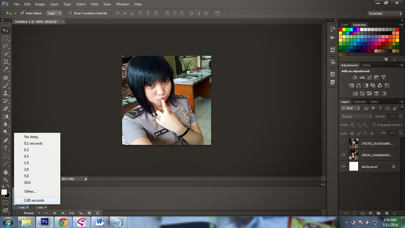 Cara Membuat Animasi Untuk DP BBM Dengan Photoshop SHELBY48