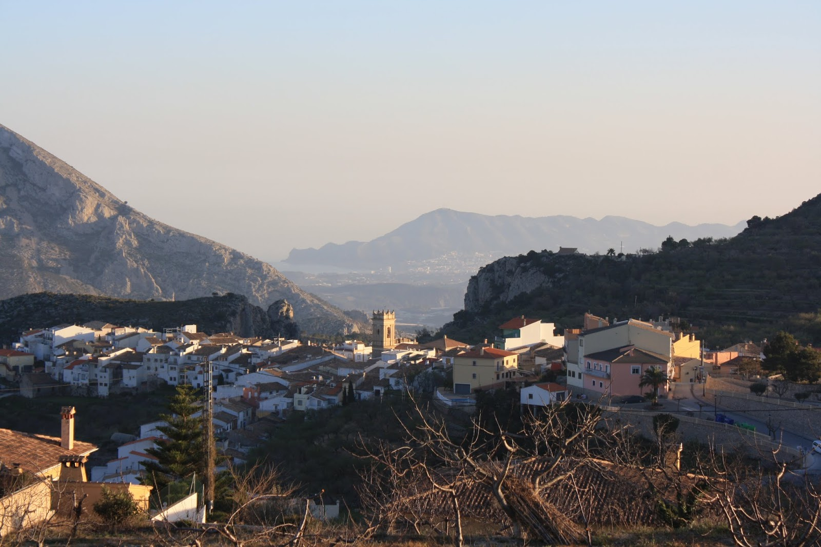 Village of Tàrbena in la Marina Alta Alicante