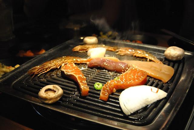 Meeresfrüchte grillen