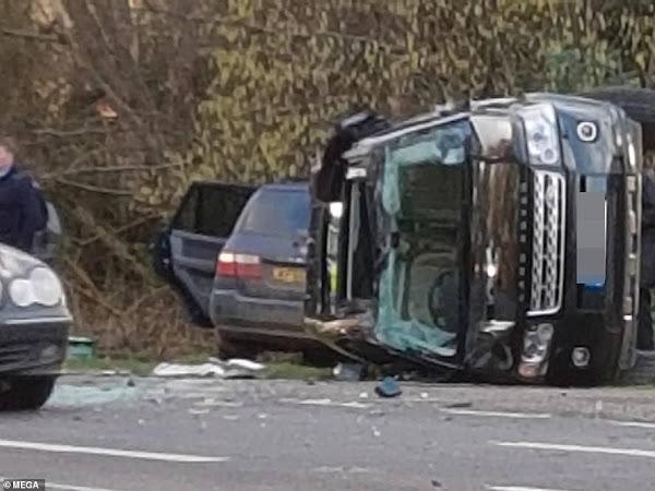 Książę Filip miał wypadek samochodowy - informacje.