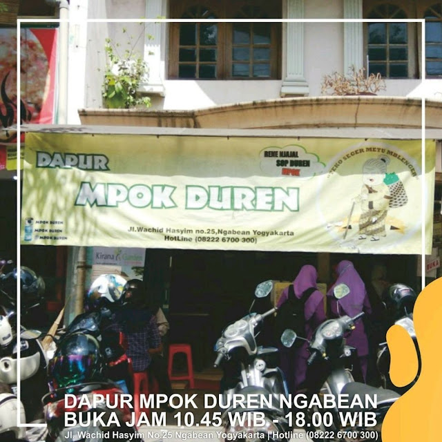 Dapur Mpok Duren Ngabean