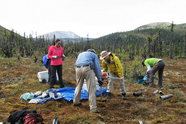 New research reveals climate change secrets hidden in the Yukon permafrost