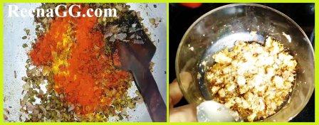 Cheese Rice Stuffed Tomatoes Recipe step 2