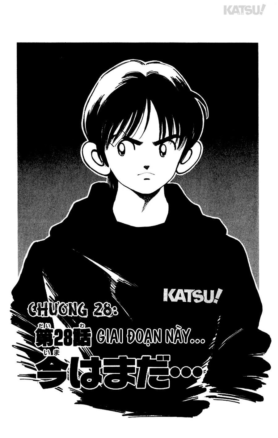 Katsu! chương 028: giai đoạn này trang 3
