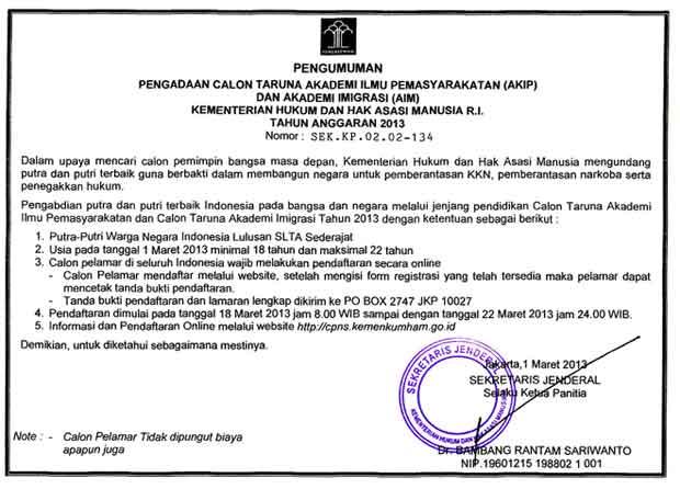 Lowongan Cpns 2013 Kebumen Lowongan Kerja Indosat Agustus 2016 Terbaru Info Cpns Lowongan Cpns Kementerian Hukum Dan Ham 2013 Pks Logede Dpc Pks