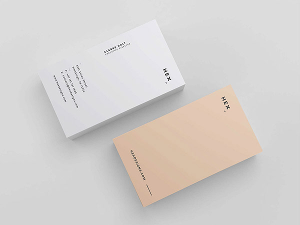 Business card design 2017 40 best examples to inspire you jayce o free hex business card template psd updated reheart Gallery