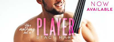 Release Blitz: Player by Staci Hart