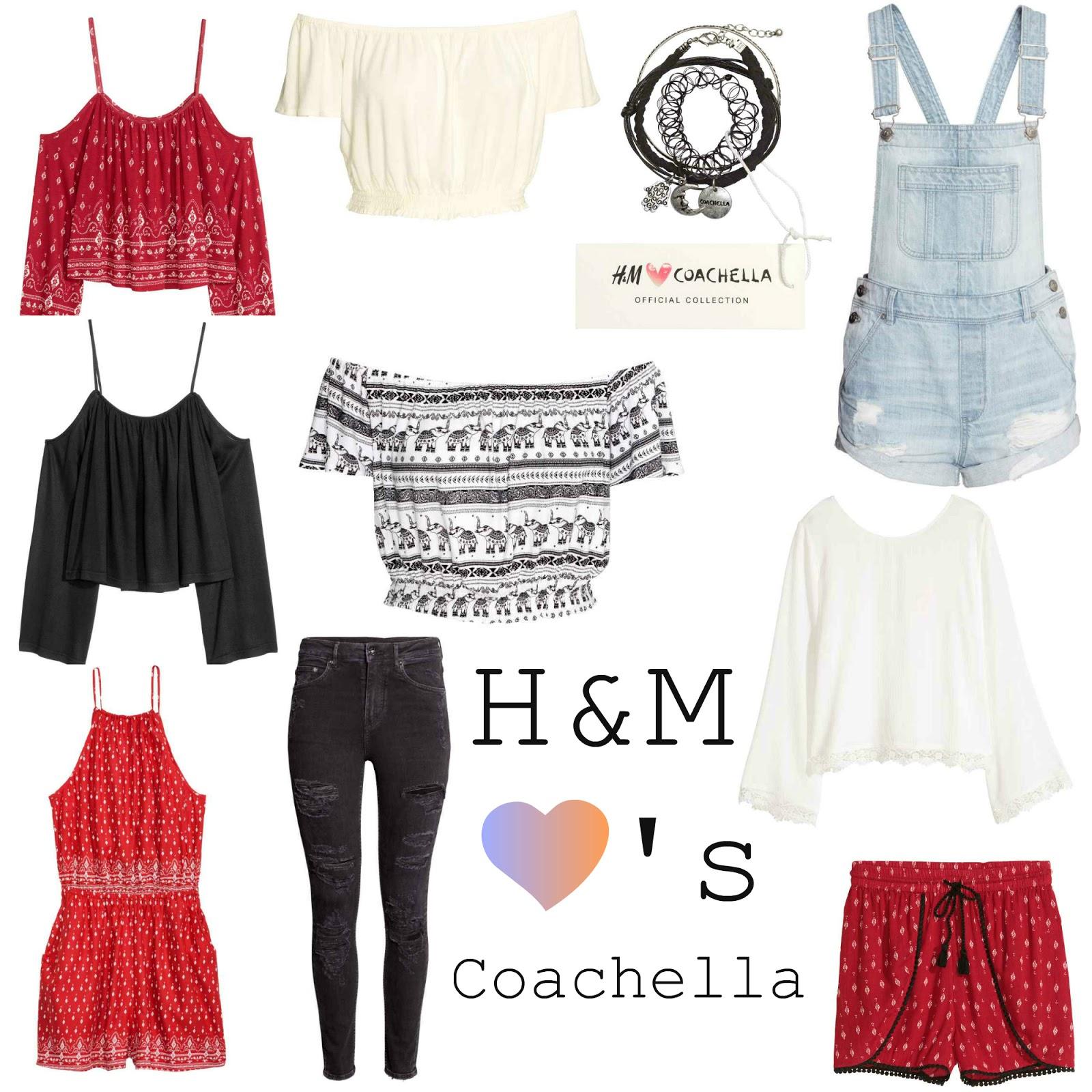 Wishlist | H&M ♥'s Coachella