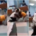 Check: Wife and mistress bump into each other during hospital visit to their man and all hell breaks loose..lol (Photos & Video)