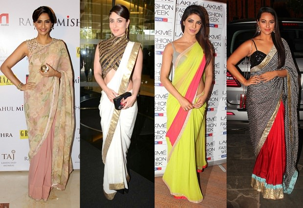 Smart Ways to Wear Sarees and Accentuate Your Body Type