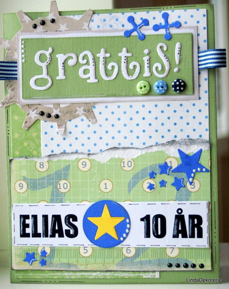 grattiskort 10 år Linda Dekorerar: januari 2012 grattiskort 10 år