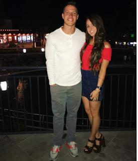 Christian Mccaffrey Girlfriend Brooke Elizabeth Pettet Boyle How The Relationship Started Png