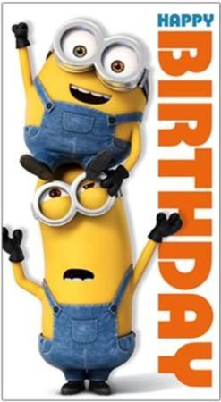 Happy Birthday Minions Gif Images Meme Pictures