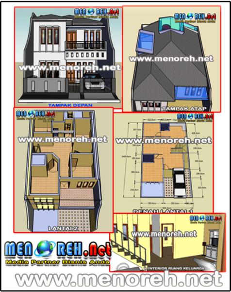 Contoh Proposal Usaha Jasa Desain Rumah - Sekitar Rumah