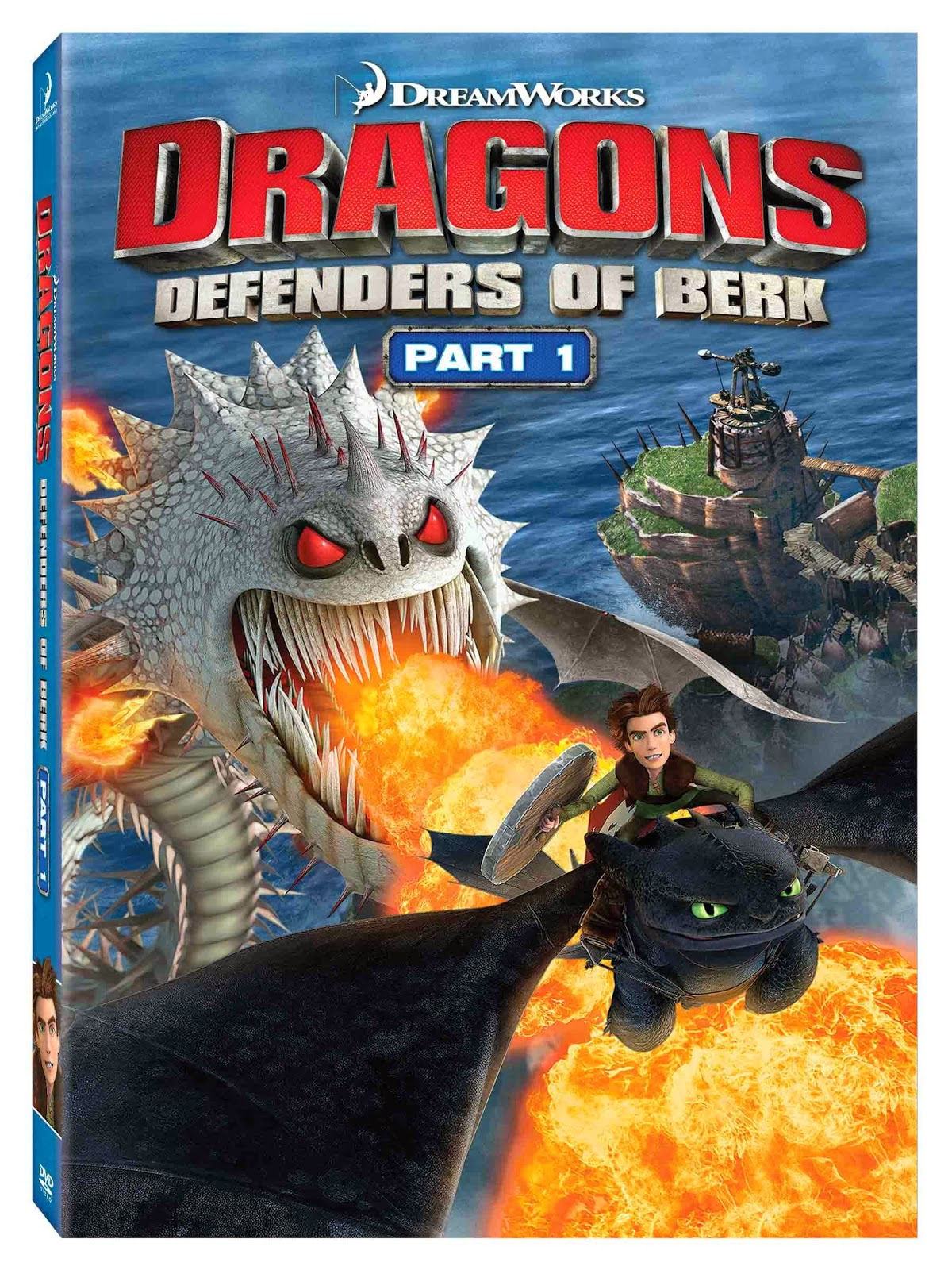 Dragons: Defenders Of Berk, Part 1 DVD Giveaway