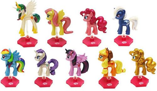 UCC DISTRIBUTING CHROME PONY FIGURES
