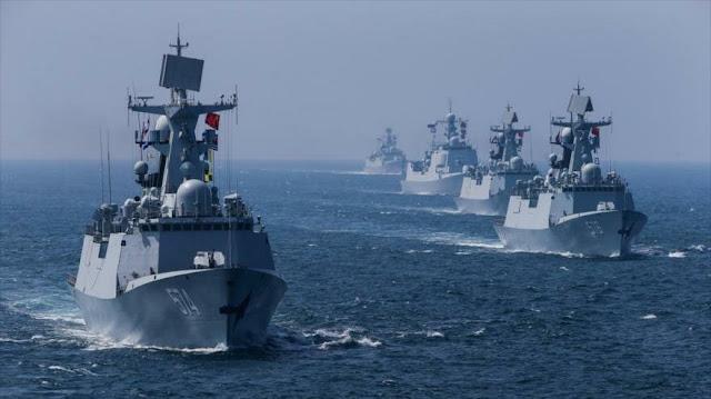 """""""China intercepta buque de guerra francés en estrecho de Taiwán"""""""