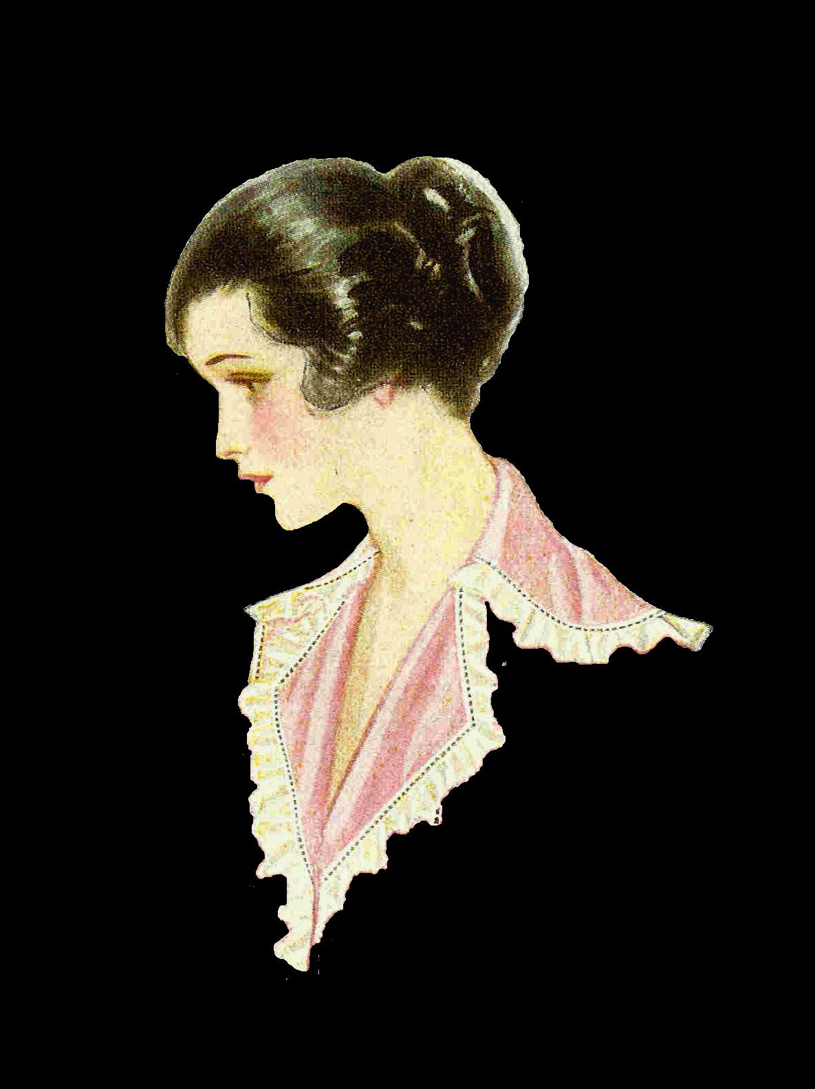 Antique Images: Free Vintage Fashion Graphic: 1915 Women's