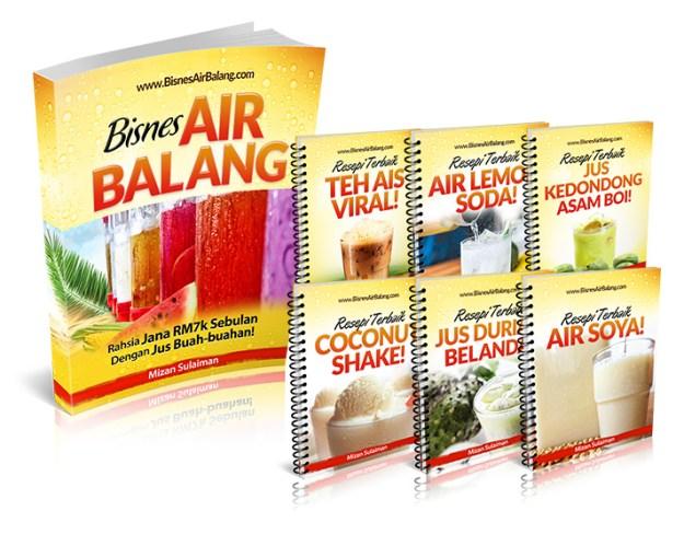 Bisnes Air Balang – Kos Rendah Dan Untung Lebih Dari 1000%