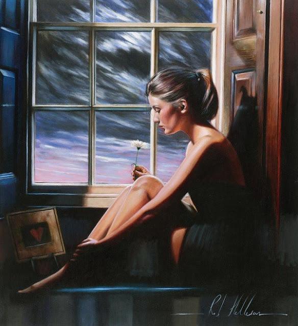 "British Figurative Painter- ""Rob Hefferan"" 1968"