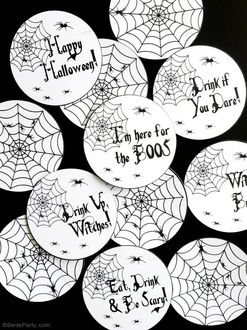 Quick & Easy Halloween Party Crafts with Free Printables - Party ...