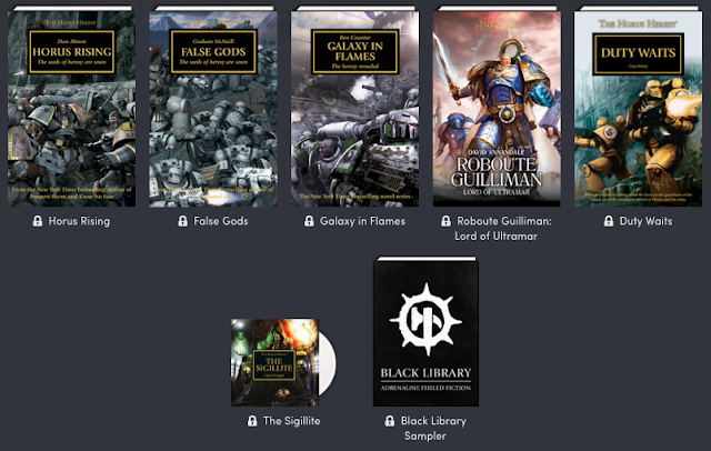 Horus Heresy Humble Bundle 2019