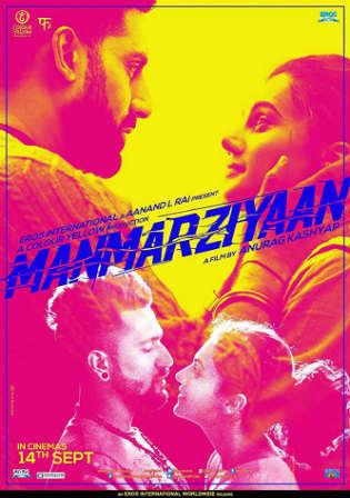Manmarziyaan 2018 Pre Dvdrip 700mb Full Hindi Movie Download