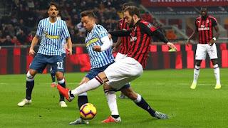 AC Milan mengalahkan SPAL 2-1 untuk kembali ke jalur kemenangan - Foto/Getty Images