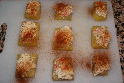 bocaditos de patata y cangrejo paso 4