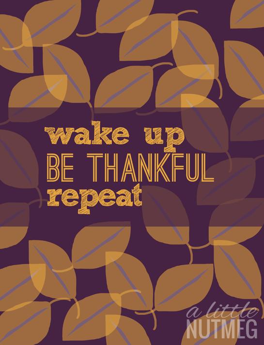 Free iPhone Wallpaper: November Edition | a little nutmeg