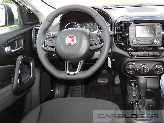 Fiat Toro 1.8 Flex Automática  - interior