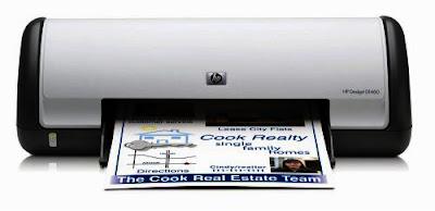 HP Deskjet D1460 colour inkjet Printer Driver CD Software Download