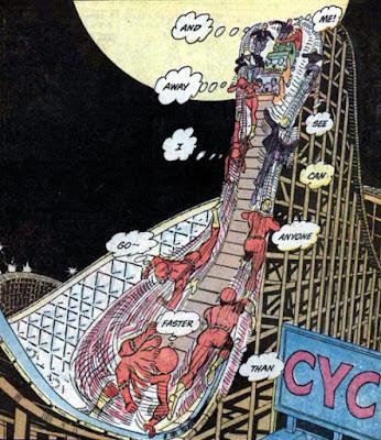 Flash #195, Roller Coaster repair