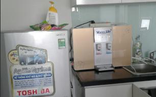 máy lọc nước iRo 2 vòi để bàn và treo tường