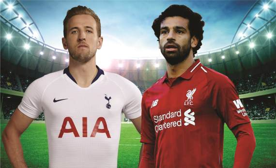 English Premier League:  Tottenham vs Liverpool
