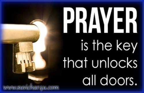 Scientific base of prayer