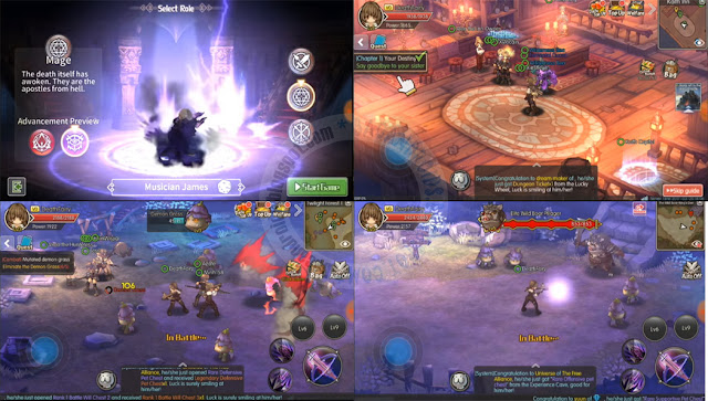 Gae Guardians Of fantasy MMORPG Apk Data latest