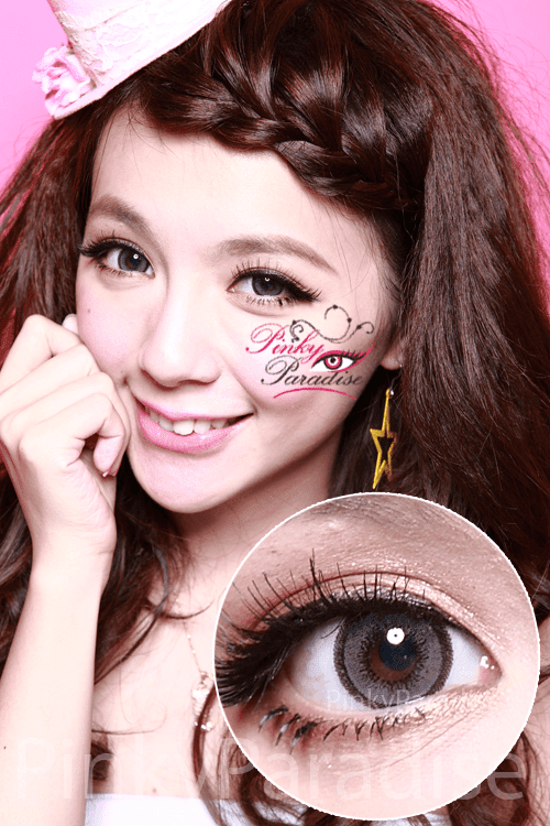 G&G Aloha Grey Circle Lenses (Colored Contacts)