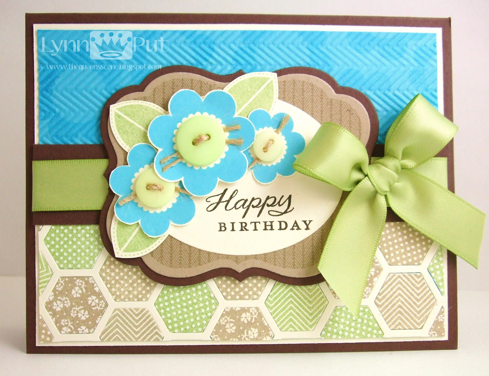 Awesome CTD#210   Blooming Button Bits Birthday Card. Hello There! Great Ideas
