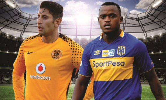 Kaizer Chiefs do battle with Cape Town City in a mouth-watering clash at the FNB Stadium this weekend