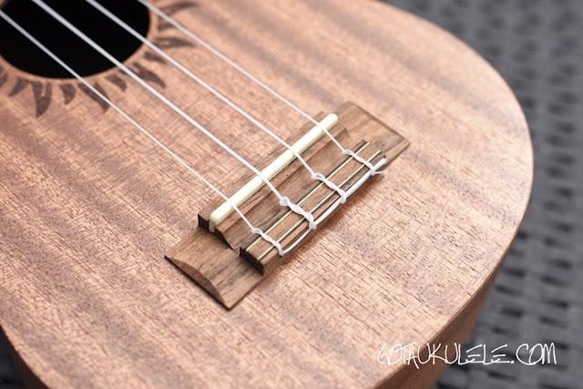 baton rouge v2-sw sun soprano ukulele bridge