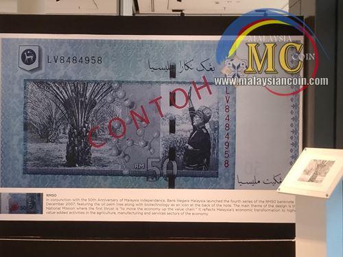 wang kertas rm50