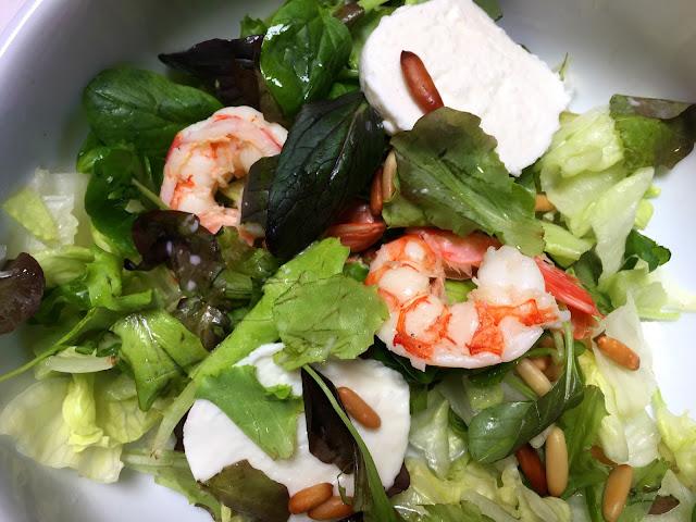 venedik, mozarellalı, deniz, ürünleri, salatası, yemek, yurt dışı, tur