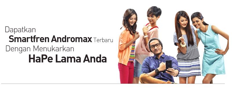 Promo Tukar Handphone Lama Anda dengan Smartfren Andromax