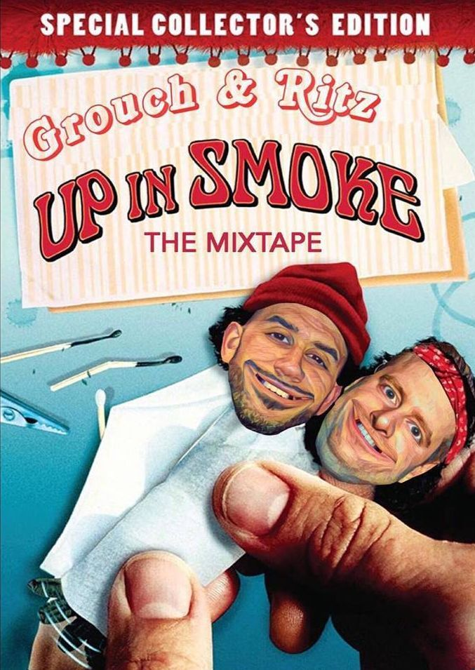 DJ Ritz and DJ Grouch present 'Up In Smoke Pt.1' | Free Download Blunt Mixtape