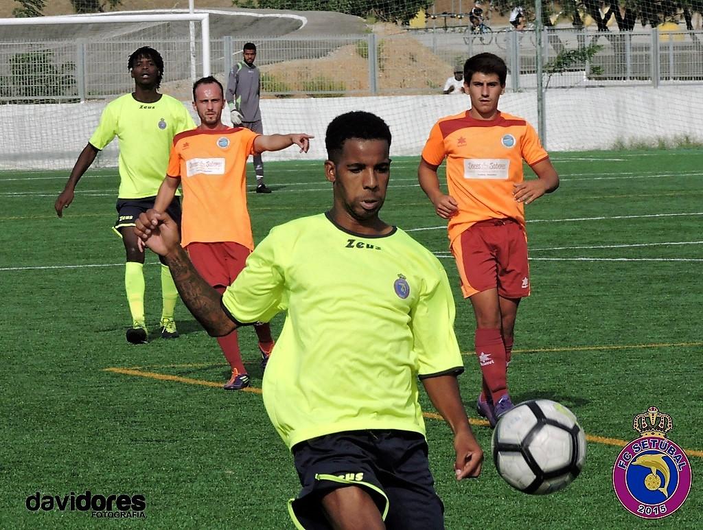 O FC Setúbal venceu o Zambujalense por 3-1 em jogo realizado no Campo  Municipal da Bela Vista a contar para a 4.ª jornada da Série B da Taça AF  Setúbal