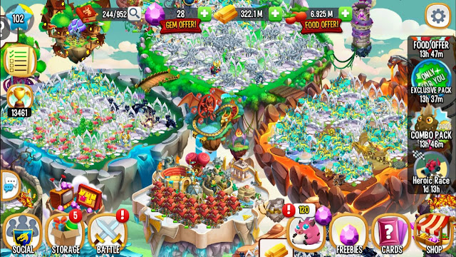 Download Game Dragon City Apk cho Android