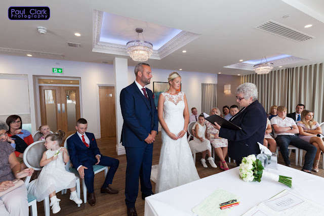 Wedding Ceremony at The Sands Hotel